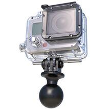 "RAP-B-202U-GOP1 - RAM 1"" Diameter Ball with Custom GoPro Adaptor"