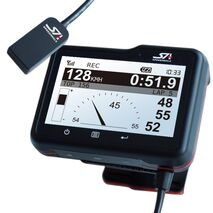 SpeedAngle GPS Lap Timer with Lean Angle Measurement and Data Logging