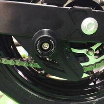 GBRacing Lower Chain Guard Bobbin Assembly for Kawasaki Ninja 400
