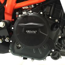 GBRacing Gearbox / Clutch Cover for KTM RC390 Duke 390