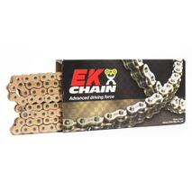 EK Chains 520 QX-Ring Heavy Duty Yellow 120L Race Chain