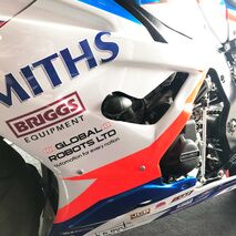 GB Racing BMW Bullet Frame Slider Left Hand Side S1000RR 2019 – Race