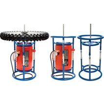 Tyre Station - Tire Changing Stand and Air Tank Holder