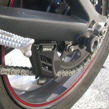 GBRacing Lower Chain Guard / Shark Fin for Triumph Daytona 675 Street Triple / R