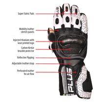 Predator Kangaroo/Cowhide Leather Gloves - Lime