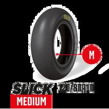 PMT Ohvale 190cc Front & Rear Medium Slick Tyre Set 100/85R10 + 120/85R10