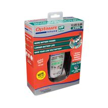 Optimate Lithium 0.8A 12V Charger For Lithium LifePO4 Batteries (BMS Auto Reset)