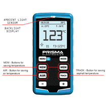 Prisma Electronics Digital Tyre Pyrometer with Needle Probe PYR2