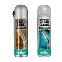 Motorex Adventure Chain Maintenance Pack - Adventure Lube and Cleaner