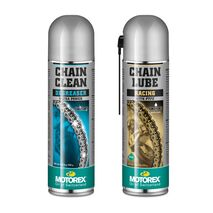 Motorex Racing Chain Maintenance Pack - Racing Lube and Cleaner