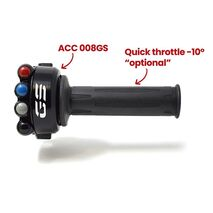 Jetprime Throttle Twist Grip With Integrated Controls For BMW GS