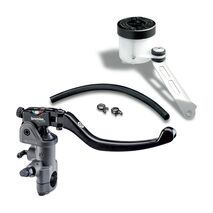 Brembo 19RCS Radial Brake Master Cylinder Fold-Up Lever 110A26310 and Reservoir Kit 110A26385