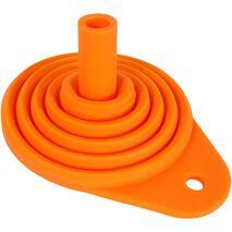 Ballards Orange Silicone Foldable Funnel