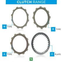 Newfren Clutch Plates to suit Yamaha R3 2015-2020