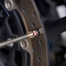 High Temperature Probe for measuring brake disc temp up to 600°C