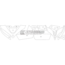 Eazi-Guard Paint Protection Film for Ducati Multistrada 1260 Pikes Peak Matte