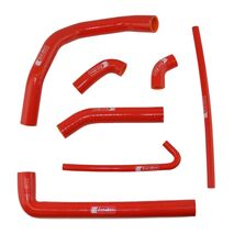 Eazi-Grip Silicone Hose and Clip Kit for Ducati 899 959 1199 1299 Panigale  red