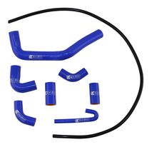 Eazi-Grip Silicone Hose and Clip Kit for Ducati Panigale V4  blue