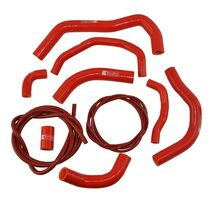 Eazi-Grip Silicone Hose and Clip Kit for Honda CBR600RR 2007 - 2019  red
