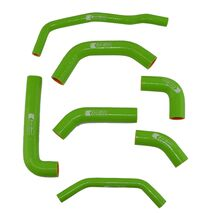 Eazi-Grip Silicone Hose and Clip Kit for Kawasaki ZX-10R 2016 - 2019  Green