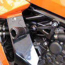 GBRacing Frame Sliders / Crash Knobs Set for KTM RC8 / RC8 R