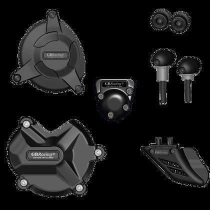 GBRacing Crash Protection Bundle (Race) for BMW S1000RR 2009 - 2016 and HP4 2013 - 2015