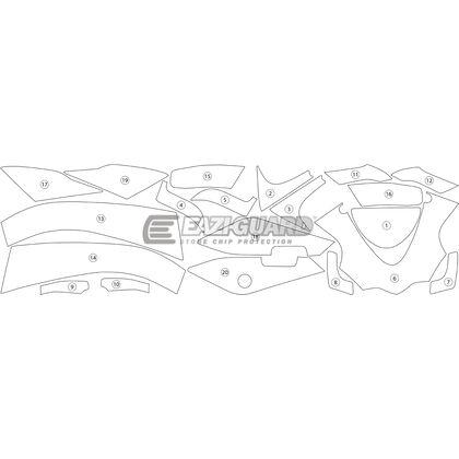 Eazi-Guard Stone Chip Paint Protection Film for Aprilia RSV4 RR RF