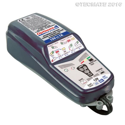 TecMate Optimate 4 DUAL Smart Charger (24) Suitable for BMW