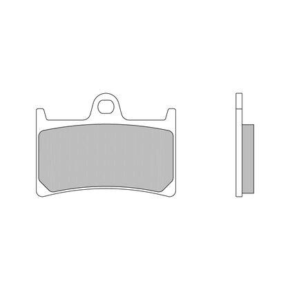 Brake Pads Brembo Z04 Compound Yamaha YZF-R1 / R6 - M538Z04