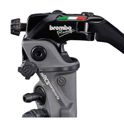Brembo 19RCS Corsa Corta Radial Master Brake Cylinder 110C74010 and Reservoir Kit 110A26385