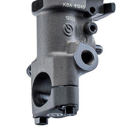 Brembo 19RCS Radial Brake Master Cylinder Fold-Up Lever 110A26310 and Reservoir Kit 110A26385