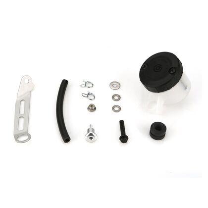 Brembo Reservoir Mounting Kit for Brembo RCS Brake Master Cylinder, White 45cc Reservoir Included