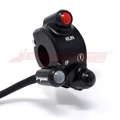 Jetprime Throttle Case with Integrated Switches for Ducati Monster Hypermotard