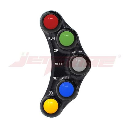 Jetprime Switch Panel LHS for MV Agusta F3 F4 Brutale RACE