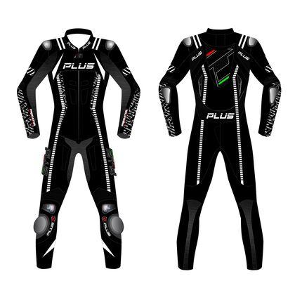 Predator Cowhide Leather Suit - One Piece Suit Black