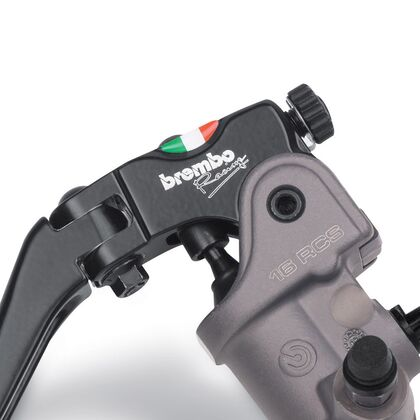 BREMBO 16RCS Radial Clutch Master Cylinder Folding Lever 16mm 16/18 Ratio - 110A26350