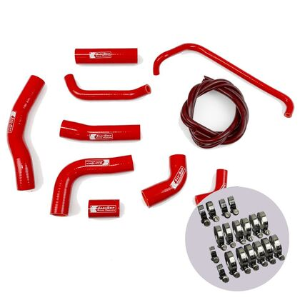 Eazi-Grip Silicone Hose and Clip Kit for Yamaha YZF-R6 Red