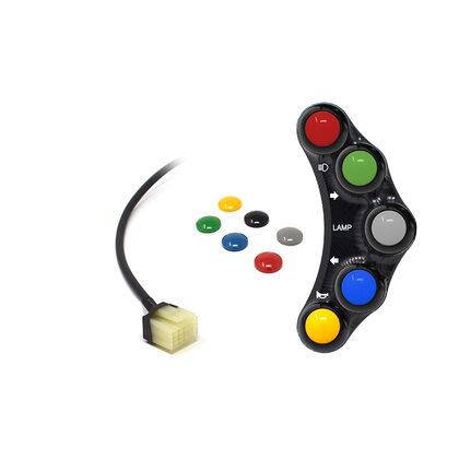 Jetprime Switch Panel LHS for Yamaha TMAX 500 530 STREET